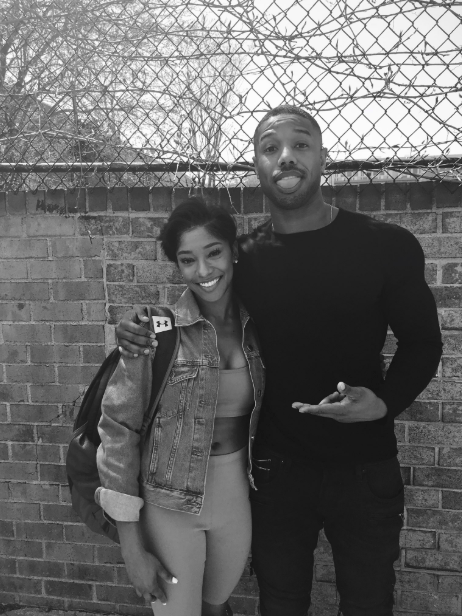 World, meet your new hero: Sylvia Wilson. She's 21 years old, a junior at Temple University, and she just successfully slid into Michael B. Jordan's DMs.