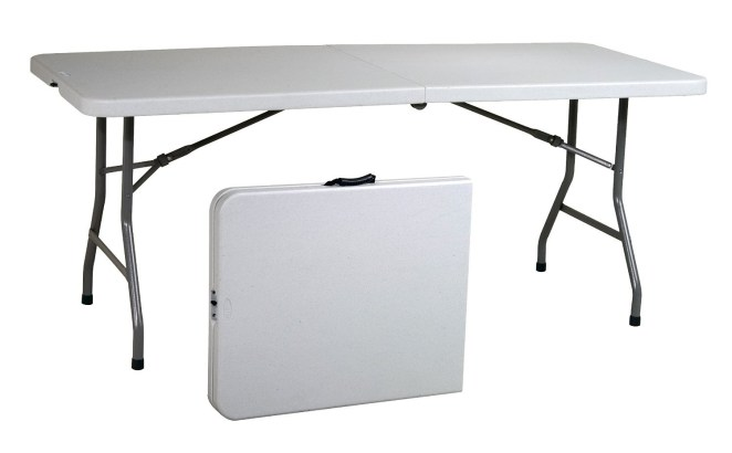 "Promising review: ""This table is so amazing. It looks simple and it's not fancy but it works well. It is much stronger and steadier than it looks. The margins are smooth and the boards feel solid. It's easily portable and not heavy. It has three adjustable heights that fit my needs well. It's worth the price."" —Amazon CustomerPrice: $62.43"