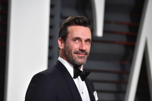 Jon Hamm was a drama teacher at a high school.