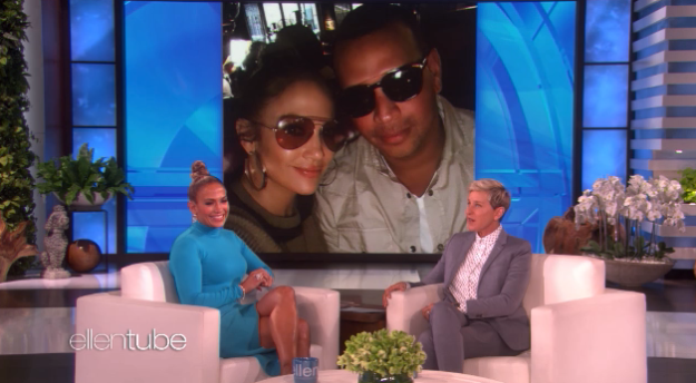 """And in a recent appearance on The Ellen Show, Jennifer Lopez revealed all about their first """"date""""."""