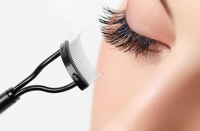 """Promising review: """"I absolutely love this eyelash comb. Unlike my previous comb, this one truly separates my fine eyelashes instead of leaving them looking clumpy. The quality of the product seems pretty good. I'm hoping this one will last a lot longer than my last one!"""" —Amazon CustomerPrice: $4.29"""
