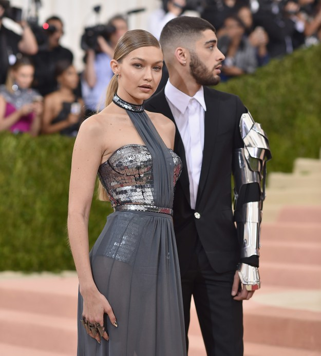 And, of course, our fave on-again/off-again pairs have had their own moments at the MET, like Zayn Malik and Gigi Hadid at the 2016 Met Gala: