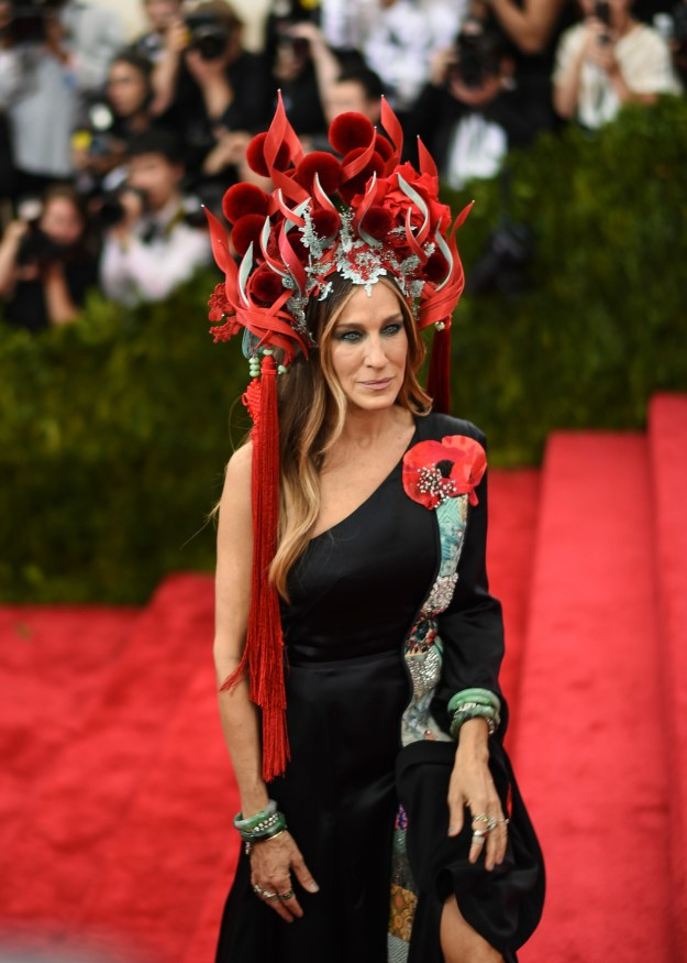 And, as a fashion icon, Sarah Jessica Parker had her own meme moment in 2015.