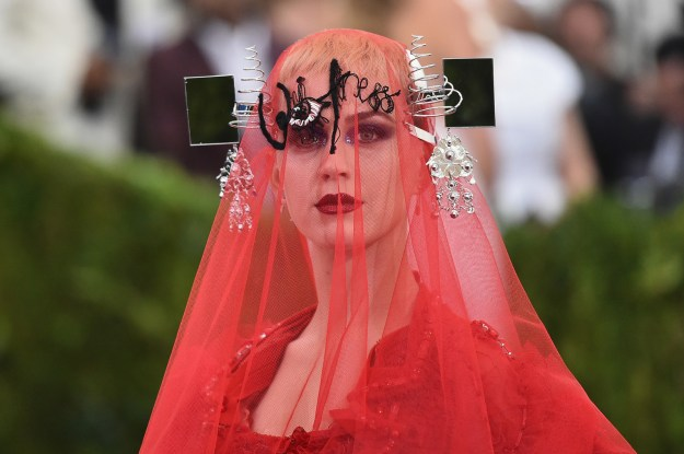 FWIW, Katy's Tamagotchi was far more subtle than this 2017 look: