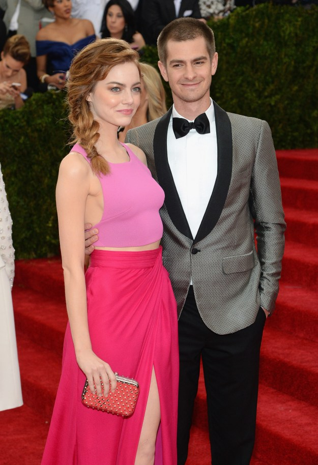 ...and Emma Stone and Andrew Garfield at the 2014 Met Gala.