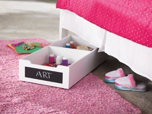 "Promising review: ""This storage is perfect under the bed hiding messes. Rolls out easily for the kids to get to their toys."" —Katie89Price: $47.26 (originally $75.42)"
