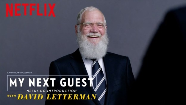 My Next Guest Needs No Introduction with David Letterman — January 12, 2018