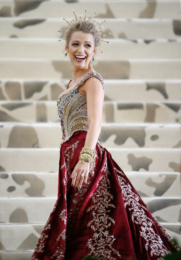Basically Blake Lively is a fashion queen and we should all bow down.
