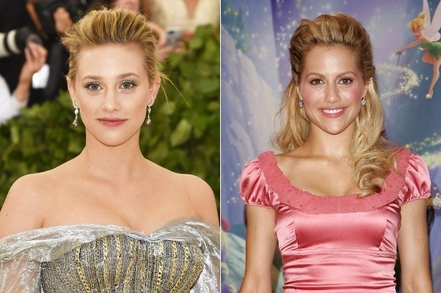 And here's a side-by-side of Lili and Brittany: