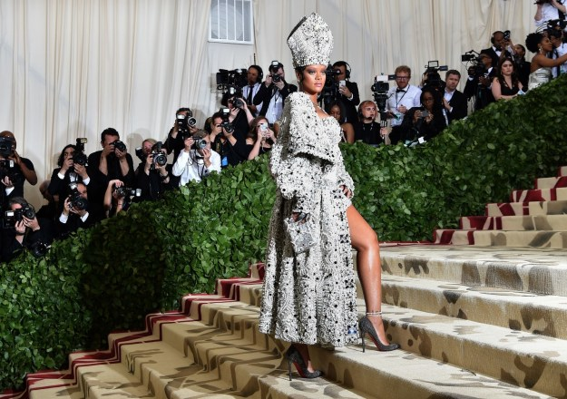 "The night – hosted by Rihanna, Amal Clooney, and Donatella Versace – saw a ton of big names walking the stairs of the Metropolitan Museum, with most adhering to the ""Heavenly Bodies: Fashion and the Catholic Imagination"" dress code."