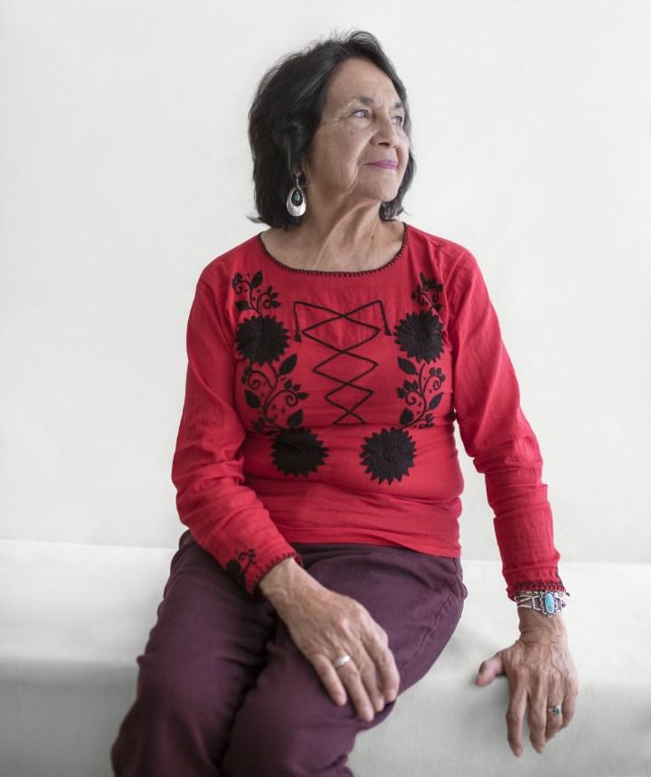 Dolores Huerta — teacher, lifelong labor activist, and community organizer