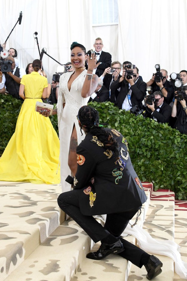 The 2018 MET Gala was full of surprises, from marriage proposals to unexpected outfit choices.