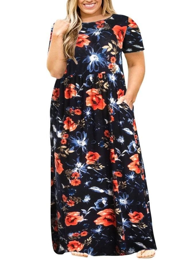 "Promising review: ""I LOVE THIS DRESS! I have ordered all of the prints and the black one (eight total so far). I constantly get complimented on these dresses, even from total strangers. It's nice to finally find a dress that is comfortable and looks cute. I will keep checking back for new prints!"" —Dina GrubbsGet it from Amazon for $25.99+ (available in sizes 14-26 and in 15 colors)."