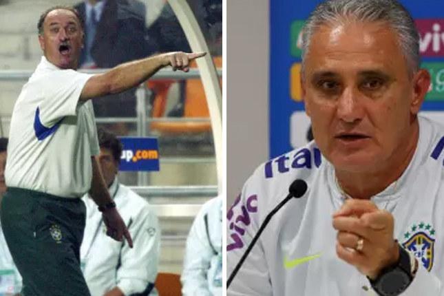 Antes de assumir a seleção Felipão havia vencido uma Libertadores da América em 1999 com o Palmeiras. Enquanto Tite venceu a Libertadores e o Mundial de Clubes com o Corinthians em 2012, além do campeonato brasileiro em 2011 e 2015.