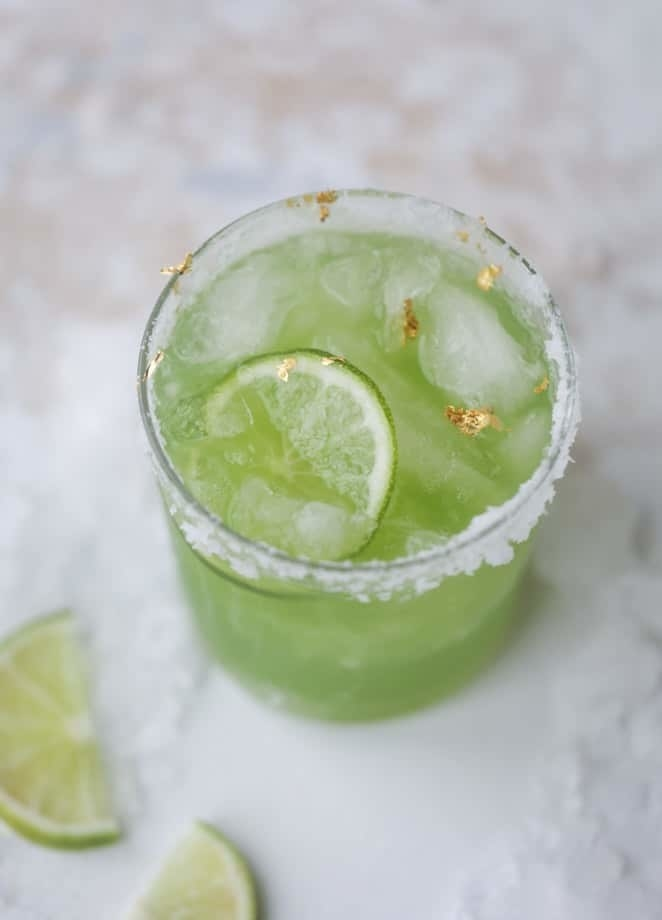 Cucumber and lime are the star flavors of this supremely satisfying take on a margarita. Get the recipe here.