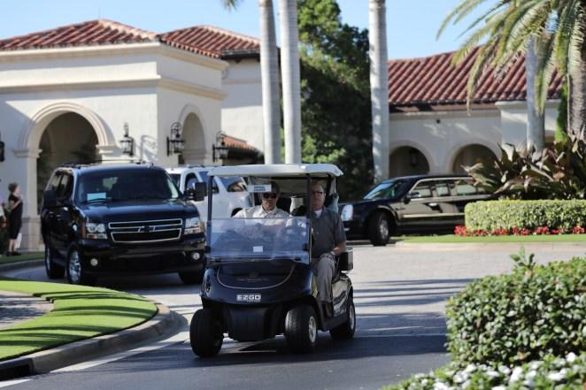 The Trump National Golf Club in Jupiter, Florida