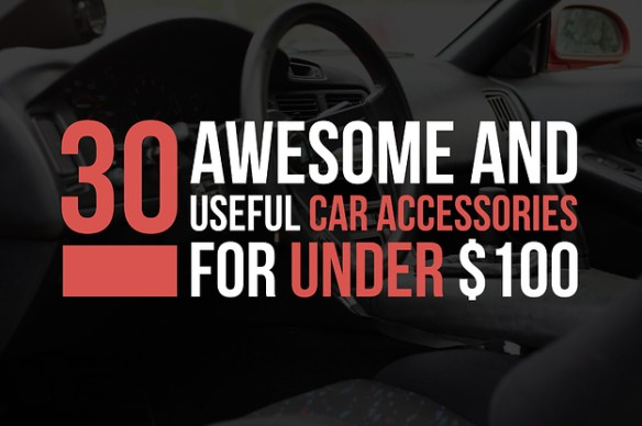18 Awesomely Useful Car Accessories For Under  100
