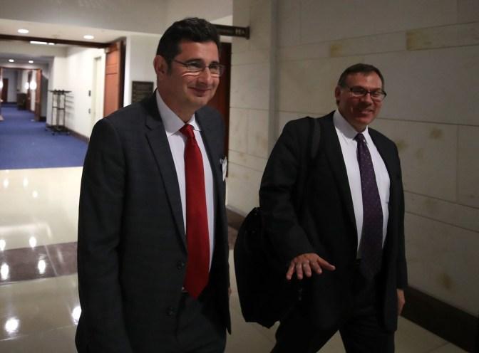 Ike Kaveladze (left) spoke to congressional investigators in November 2017.