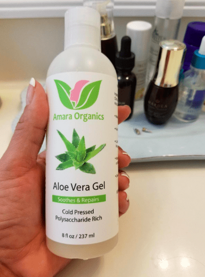 """Promising review: """"Dang, dang, dang! If I could put this on my heart (I have SVT — Google it) I would! This thing has healed everything from razor bumps, to foot blisters, to face pimples, to ingrown hairs from waxing, to hemorrhoids. Where have I been? Apparently up under a rock to not know about aloe vera gel! This is a definite buy...and buy again...and again when you run out!"""" —Indigo P. LyonsGet it from Amazon for $15.15."""