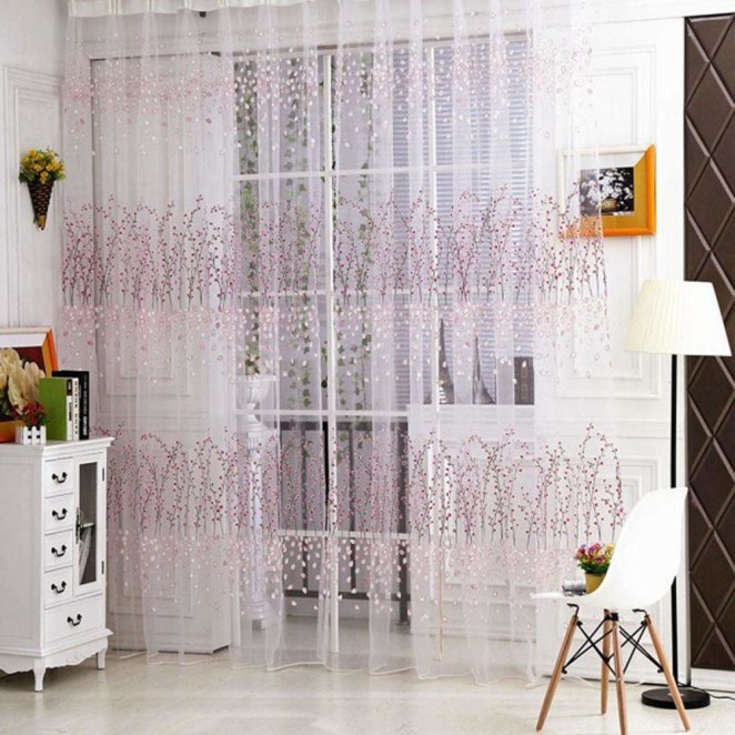 """Get them from Amazon for $5.99+ (available in seven sizes and 24 patterns).Promising review: """"These curtains are absolutely GORGEOUS!! Ridiculously low price for the quality. The items arrived much faster than anticipated, even though it was not a Prime item."""" —Festygirl"""