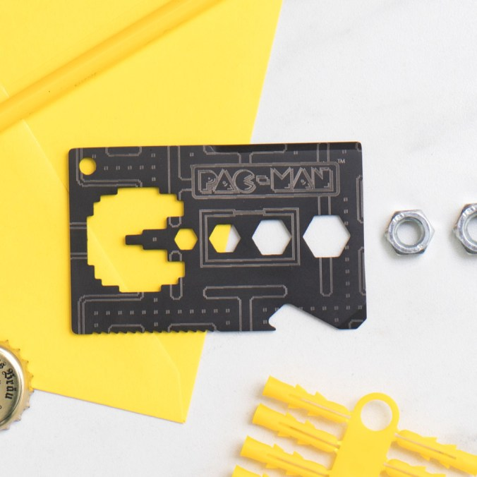 It's got a bottle opener, a wire stripper, four different size allen wrenches, a ruler, a saw blade, a pry tool, a screwdriver, and a letter opener, and is slim enough to pac in your wallet.Get it from Firebox for $13.19.