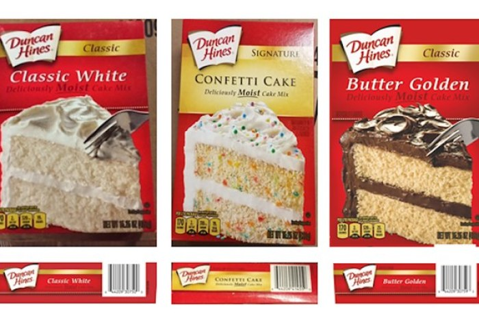 Duncan Hines Is Recalling 4 Cake Mixes Due To Possible Salmonella