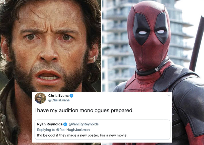 Ryan Reynolds Is Trolling Hugh Jackman Again, And Now ...
