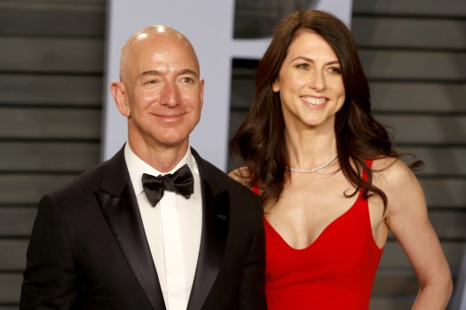 Amazon CEO Jeff Bezos And His Wife, MacKenzie, Are Getting ...
