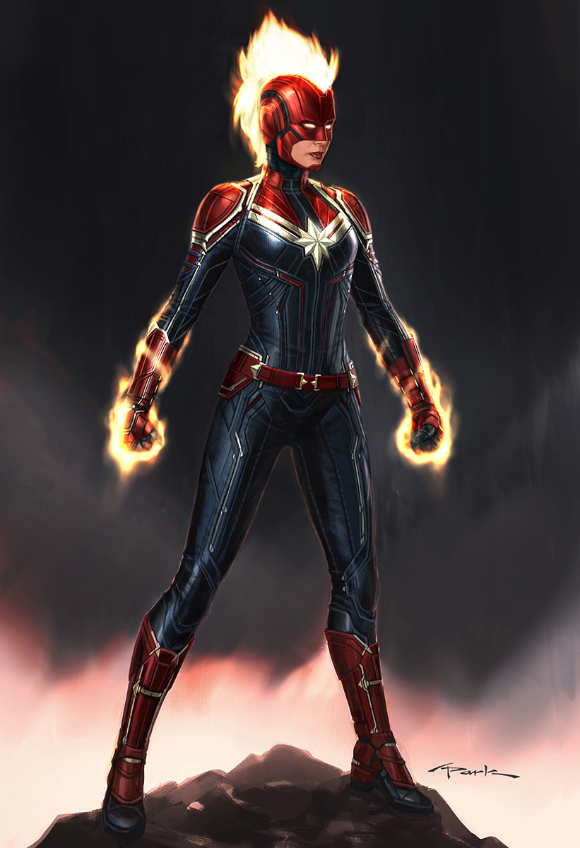 """21 secrets about the """"captain marvel"""" costumes that will make you"""