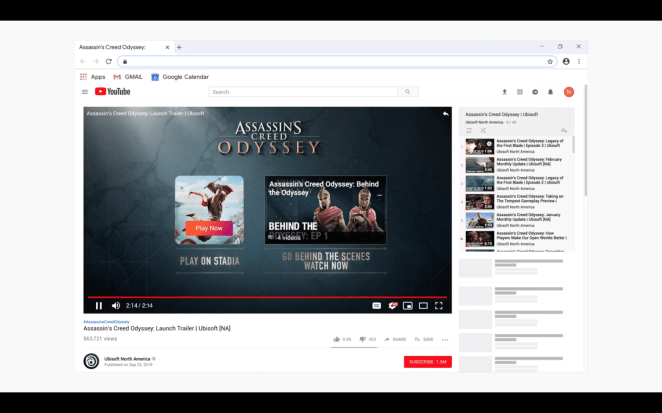 """The """"Play Now"""" feature allows players to start a game directly from YouTube."""