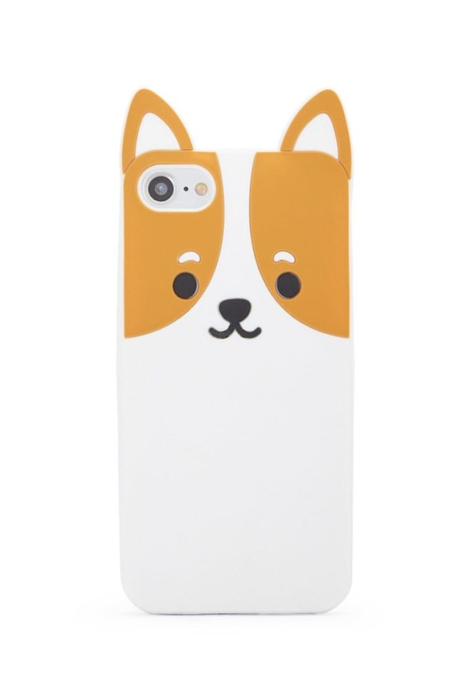 This doggo fits iPhone models 6, 7, and 8!Get it from Forever 21 for $9.90.