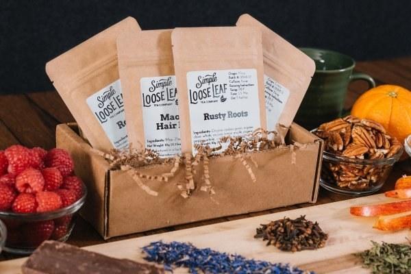 "What you'll get: Choose between four subscription plans: the sampler tea box (comes with four hand-selected loose leaf teas — a black tea, a green tea, an herbal tea, and a seasonal tea), herbal/decaf tea box (comes with four hand-selected loose leaf teas — 100% caffeine-free seasonally fun teas), black tea box (comes with four hand-selected loose leaf teas — two black teas and two ""earthy"" teas), or green tea box (comes with four hand-selected loose leaf teas — two green teas, and two ""bright"" teas).Get it from Cratejoy for $9/month."