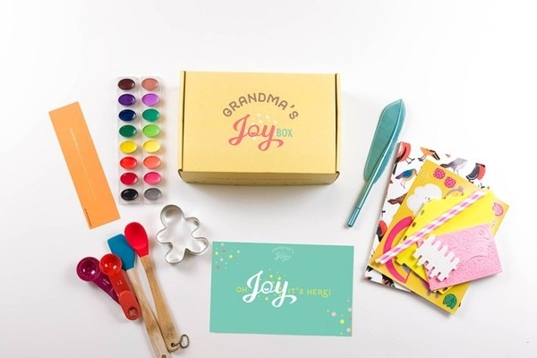 What you'll get: A box centered around a theme, containing items for a grandma (or grandpa!) and grandchildren to use together with things like a book, crafts, baking supplies, and more!Get it from Cratejoy for $33.32/month.