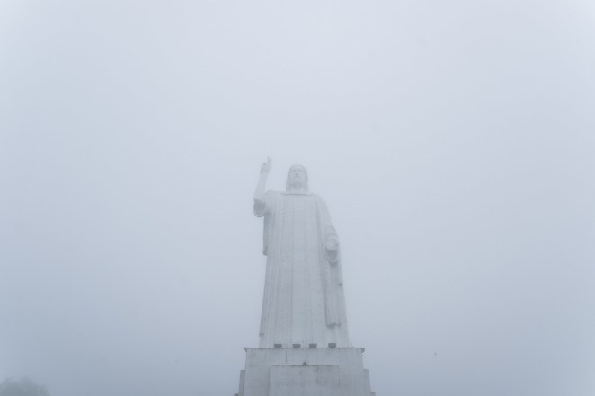 A statue of Jesus in San Miguel de Tucumán.