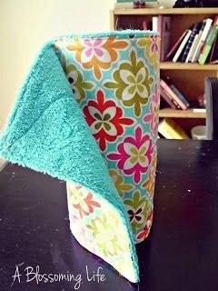 DIY Unpaper Towels Instructions