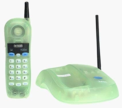 Usually a clear phone or something shaped like a food item.