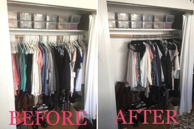 double the space in your closet
