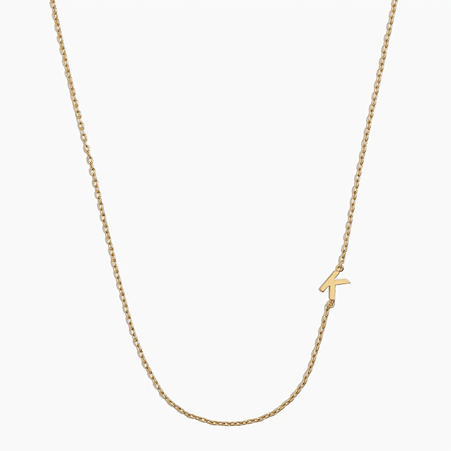 Get it from J.Crew Factory for $10.50 (available in all letters).