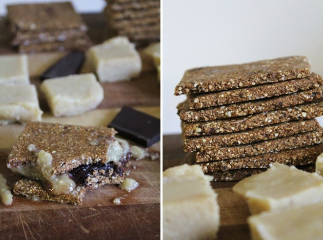 Make this classic treat vegan by using vegan chocolate and making marshmallows with cashews, coconut oil, maple syrup, and vanilla. Get the sweet treat recipe here.