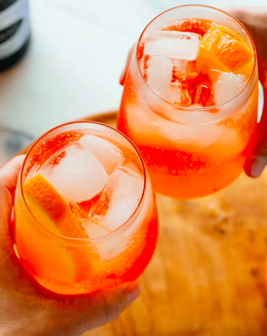 This Italian drink has been at the heart of one of the liveliest food debates in recent memory, but no one can deny its amazing popularity. Here's the recipe for classic Aperol Spritz.