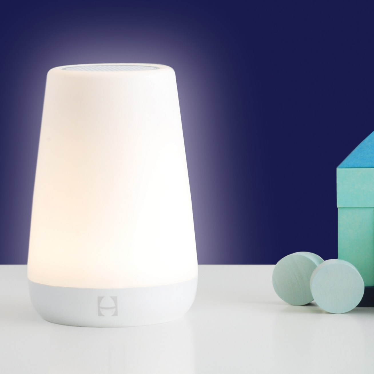 """And as they grow, you can use it as a night light and as a signal for when it's okay for them to get up in the morning. It has several preset color combinations, or you can customize the color and brightness. Promising review: """"Love this, couldn't wait to use it with my baby girl. It makes all the regular sound machine noises as well as lullaby music. And the nightlight features are so fun! This is something that you will be able to use for your child from infant onwards. It is very simple to control from the app on your phone as well. You can create """"schedules"""" of music and lights for certain times, etc. Very neat product and super easy to set up and use!"""" —IferGet it from Walmart for .99."""