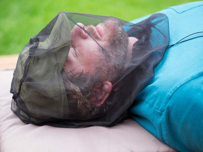 """Promising review: """"I have been using this product while working in my vegetable garden which is plagued with gnats and the occasional mosquito. The netting is very effective. I can see the gnats at times swarming around my face, yet foiled from reaching my skin by the Benvo net. I like the small drawstring bag it comes in and think it will be handy to store the net for use on hikes."""" —BetsyGet it from Amazon for $8.99."""