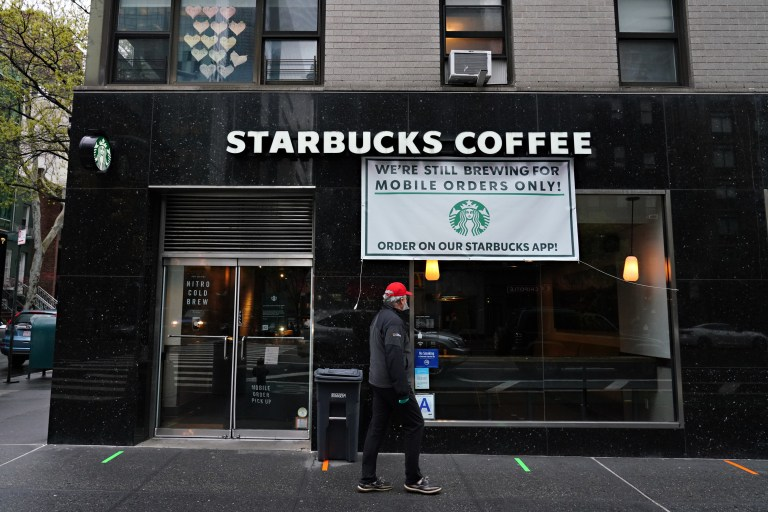 Coronavirus Will Keep Starbucks Seating Closed, But To-Go Will Reopen In May