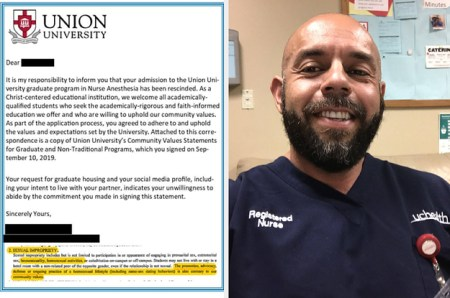 Union University in Tennessee Rescinds Homosexual Nursing Student's Admission