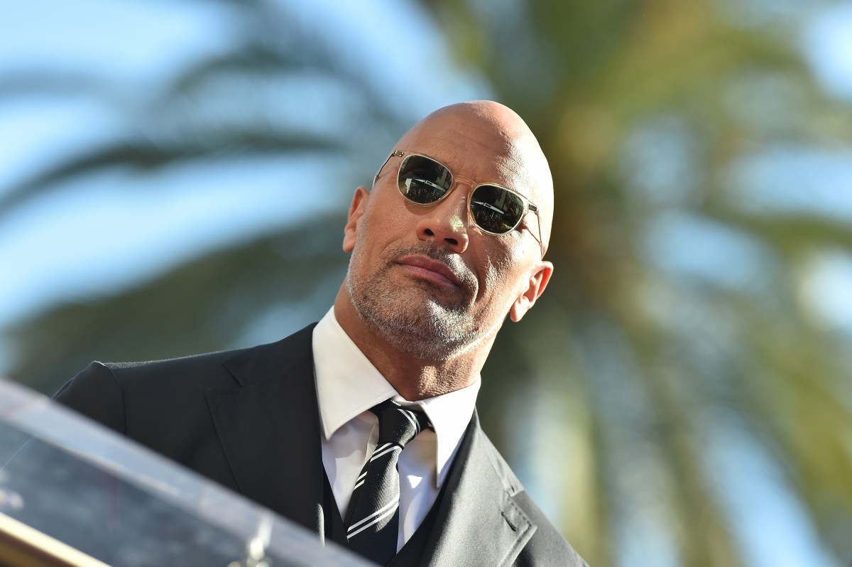 Actor Dwayne Johnson is honored with star on the Hollywood Walk of Fame
