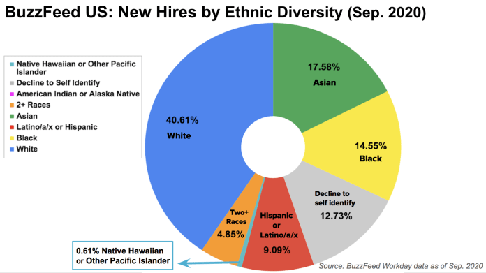 2020 Update On Diversity At Buzzfeed
