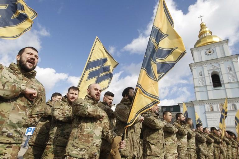 A Ukrainian Neo-Nazi Group Is Organizing Violence On Facebook