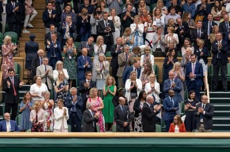 The Wimbledon Crowd Gave A Standing Ovation For A Woman Who Helped Develop A COVID Vaccine