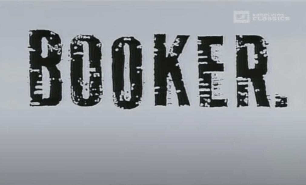 Booker title screen