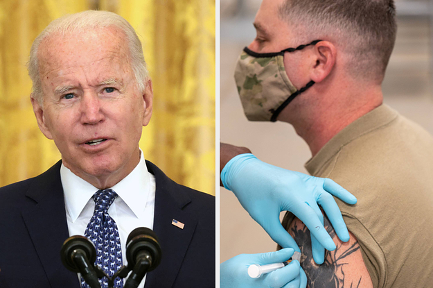 Biden Is Mandating COVID Vaccines For All Federal Workers And Large Employers